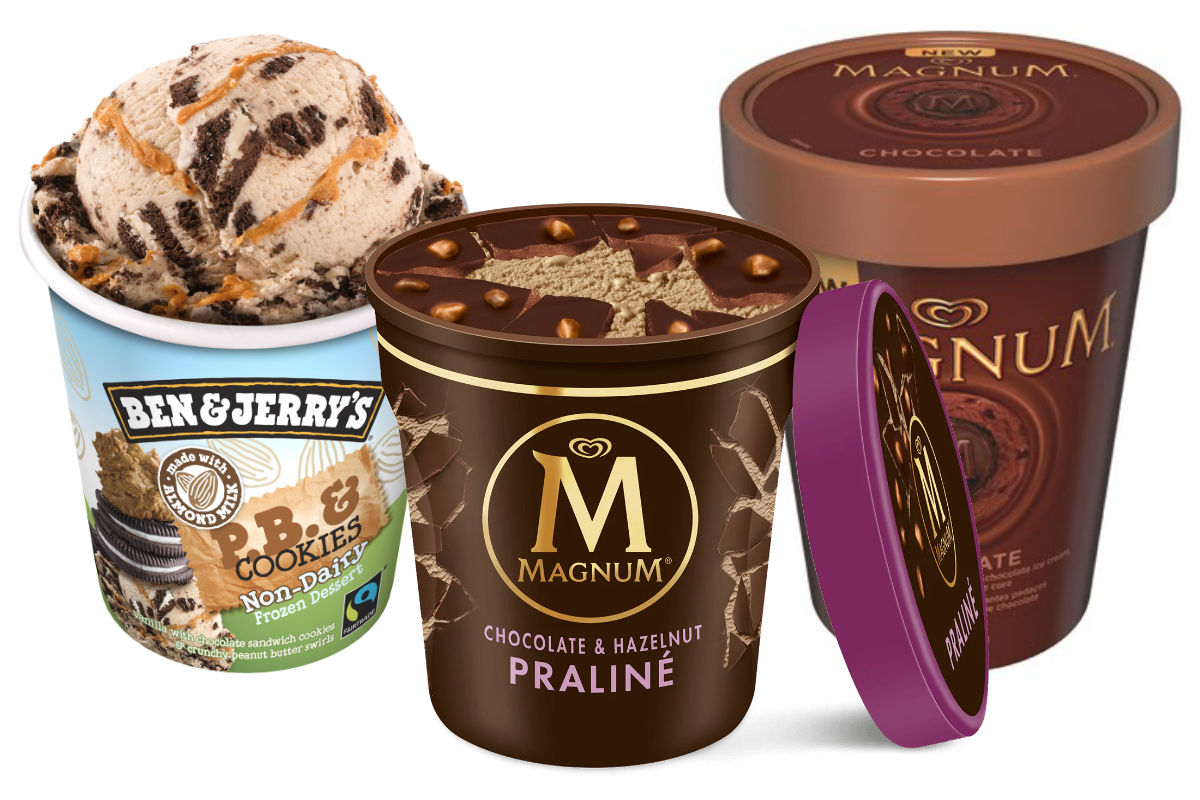Unilever premium ice cream - Magnum and Ben & Jerrys