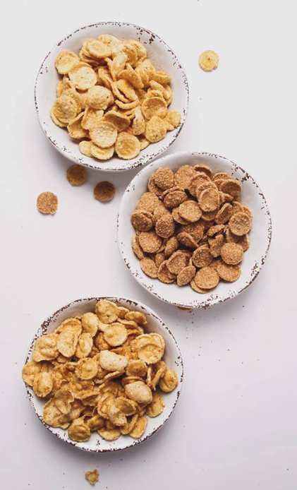 Yappah! protein crisps in bowls, Tyson Foods