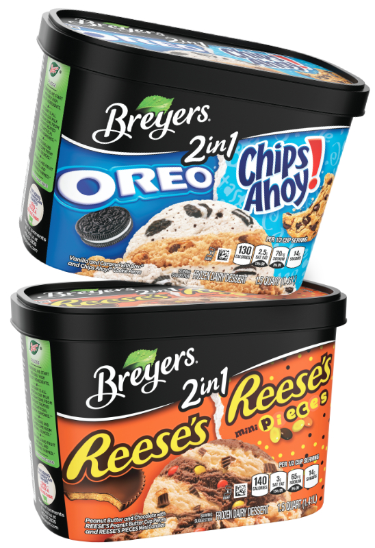 Breyers 2in1 ice cream, Unilever