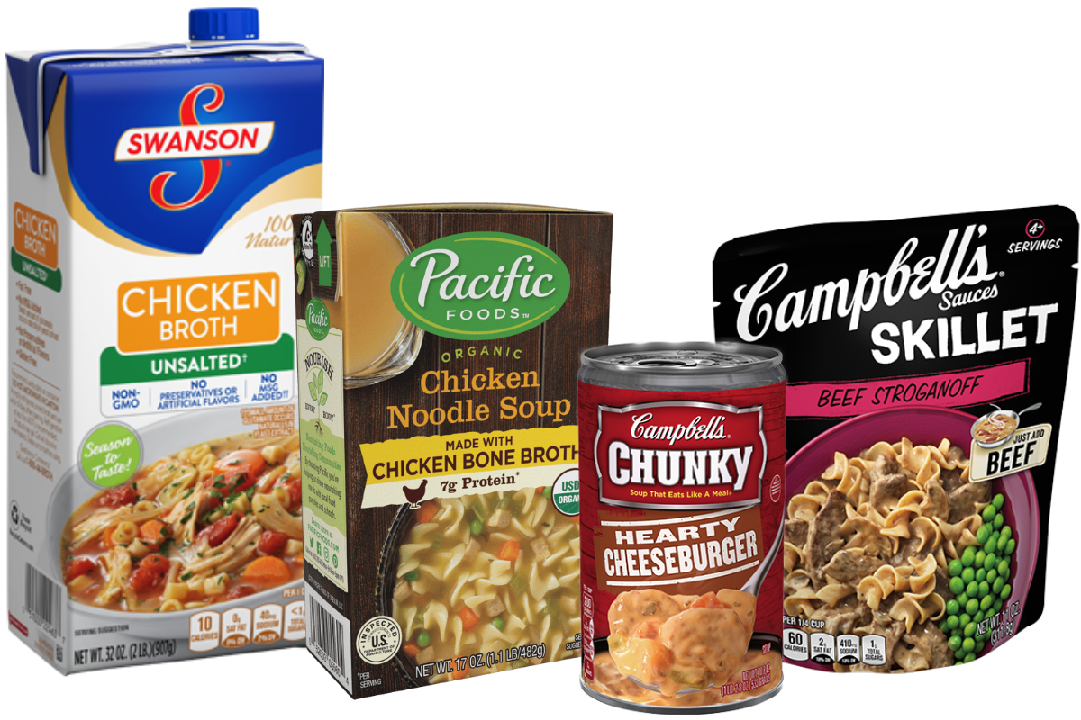 Campbell Soup brands