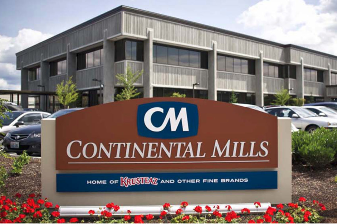 Continental Mills sign