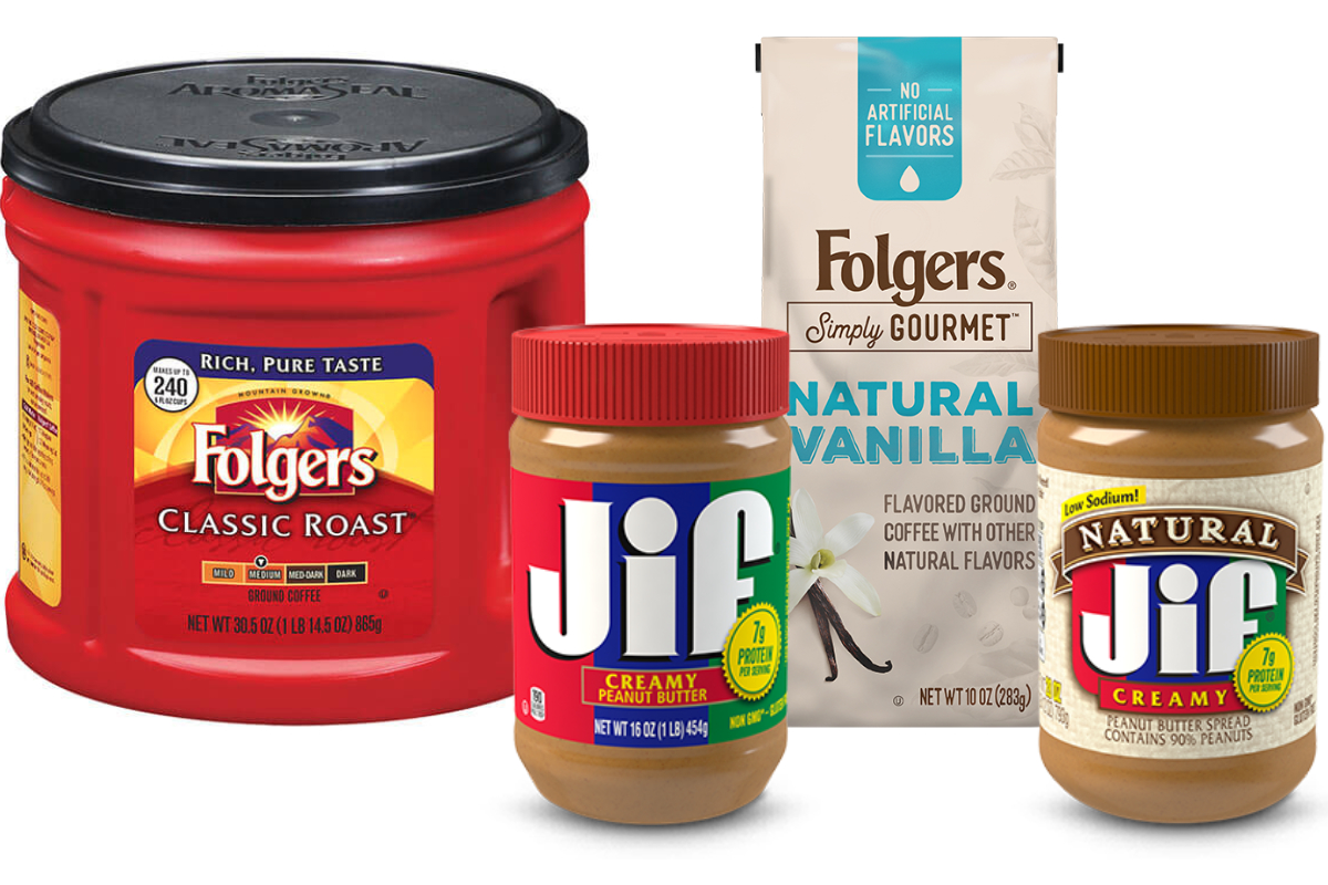 Folgers and Jif, Smucker