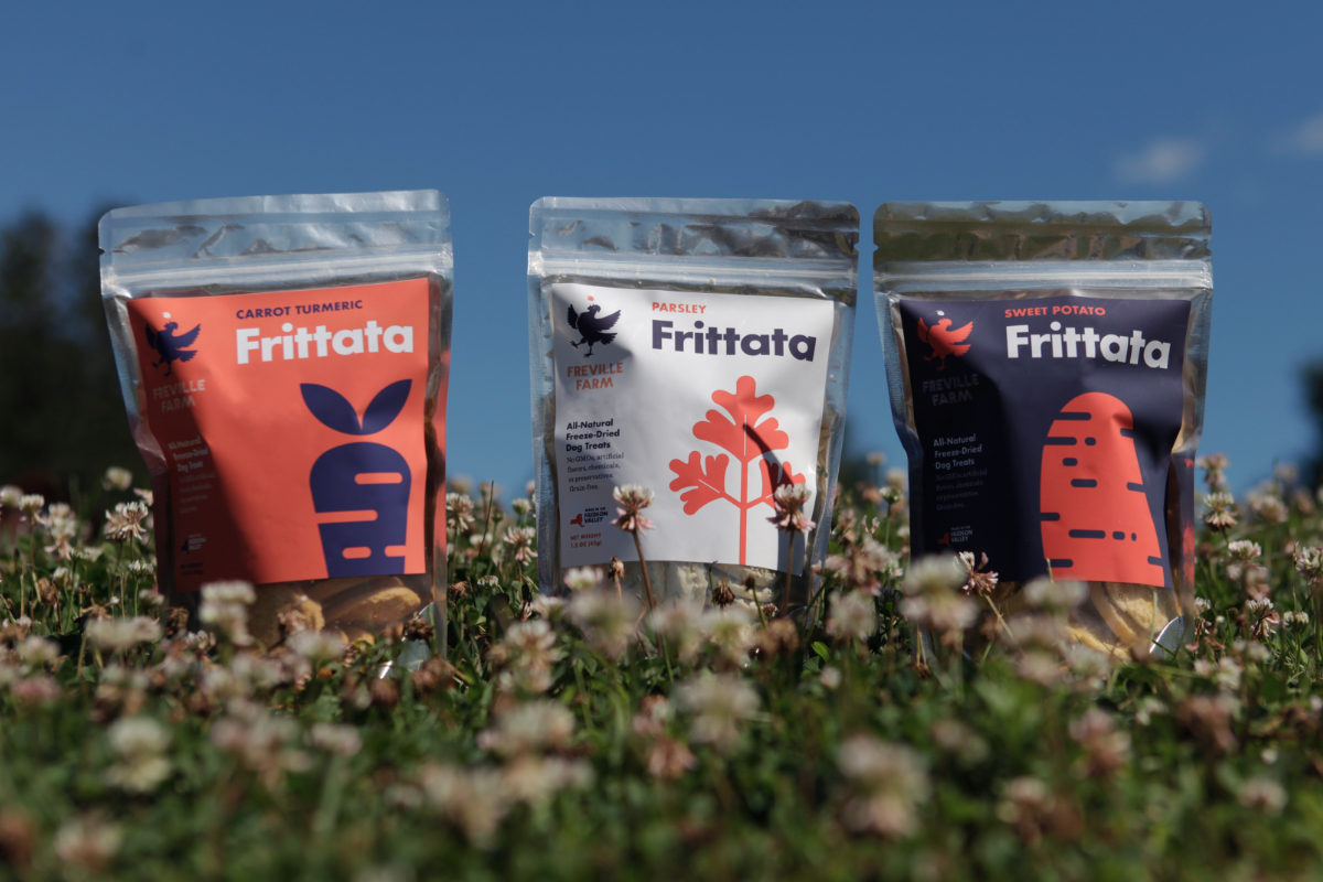 Freyville Farm Frittata dog treats