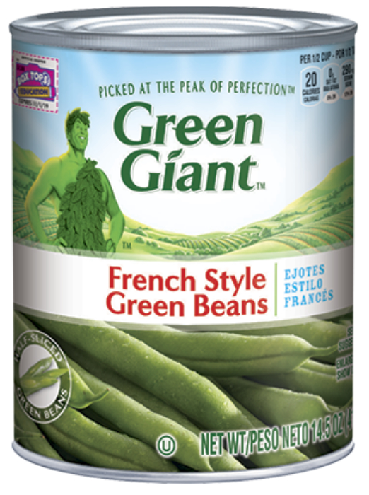 Green Giant green beans can