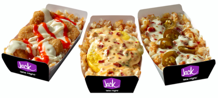 Jack in the Box Munchie Mash-Ups