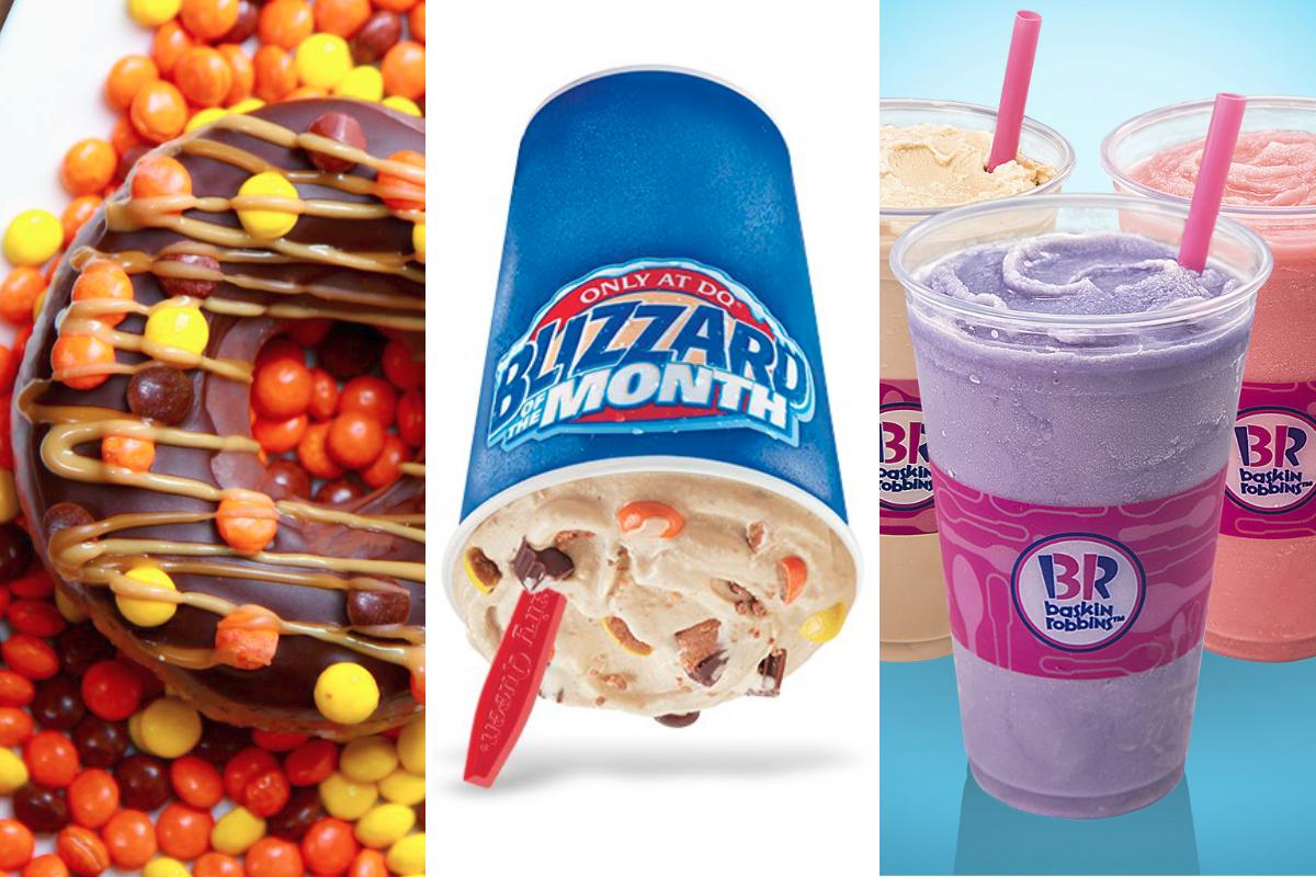 Slideshow New Menu Items From Krispy Kreme Dairy Queen Baskin Robbins 2018 08 10 Food Business News