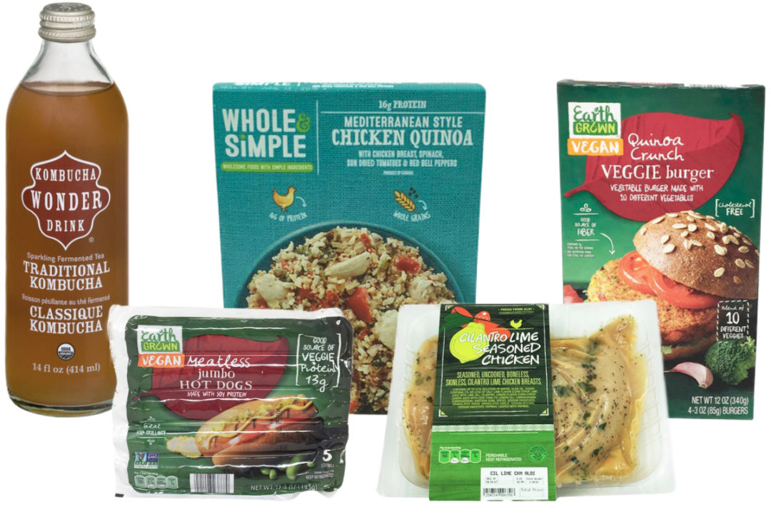 New Aldi products