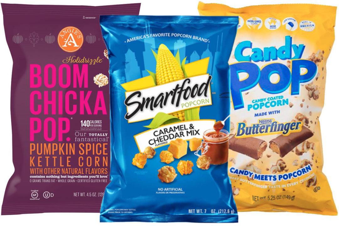 Ready-to-eat popcorn varieties