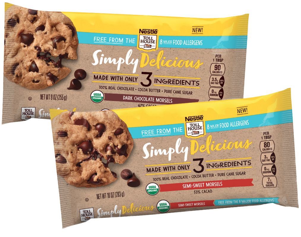 Nestle TollHouse Simply Delicious Morsels