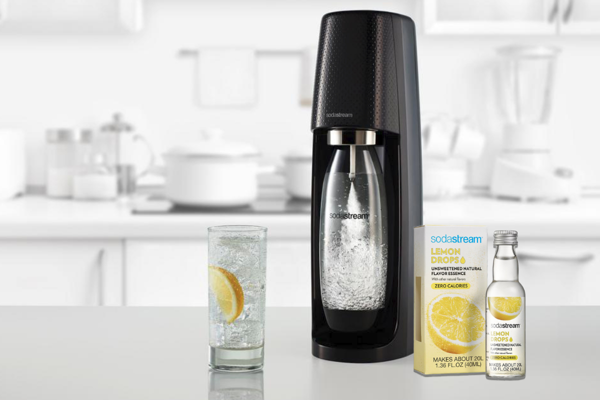 SodaStream lemon