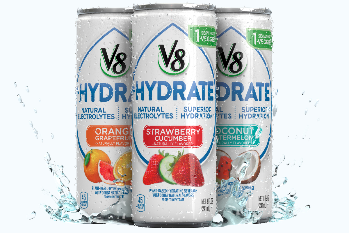 V8+Hydrate, Campbell Soup Co.
