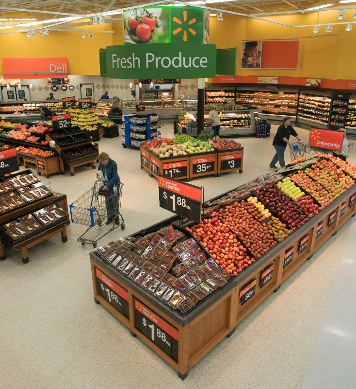 Walmart sales boosted by strong grocery performance | 2018