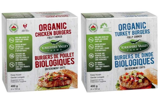 Yorkshire Valley Farms Ltd. organic chicken products