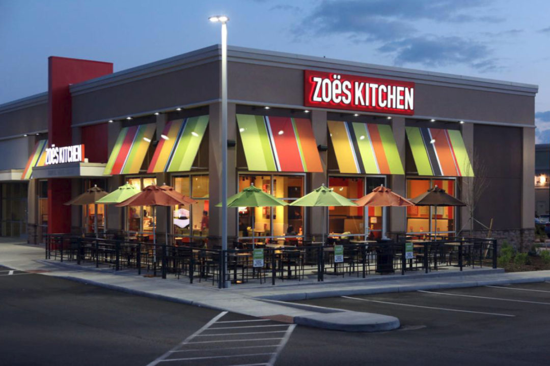 Zoe's Kitchen restaurant