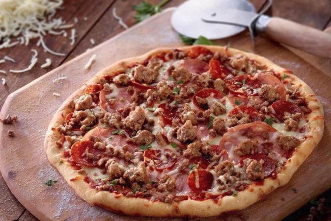 Burke Marketing beef crumbles, Hormel