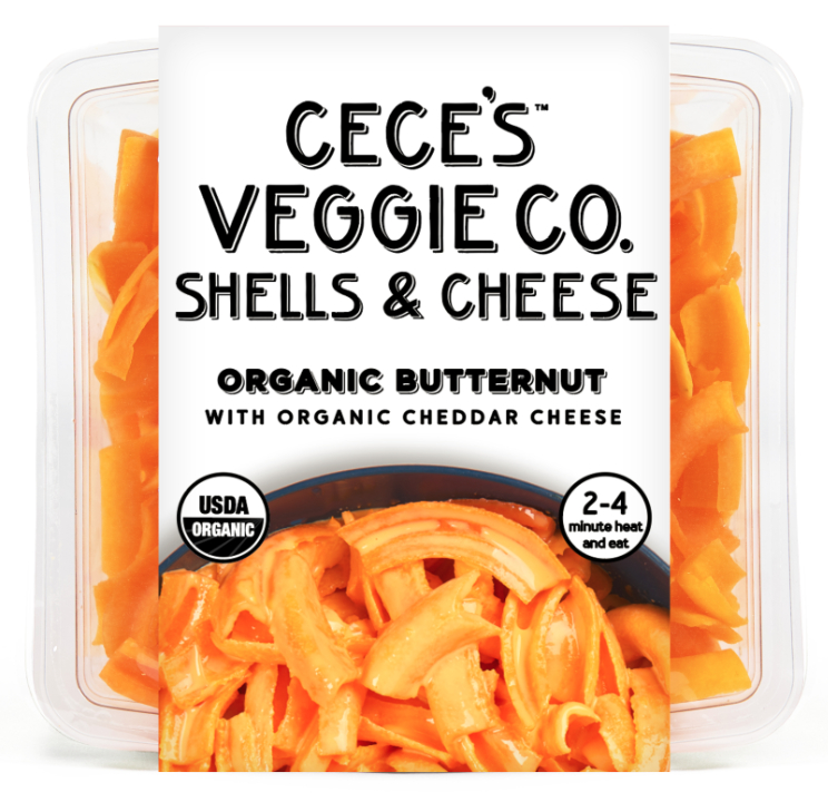 Cece's butternut shells and cheese