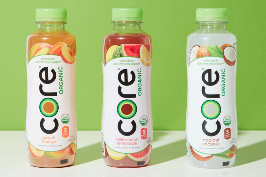 Core Organic beverages