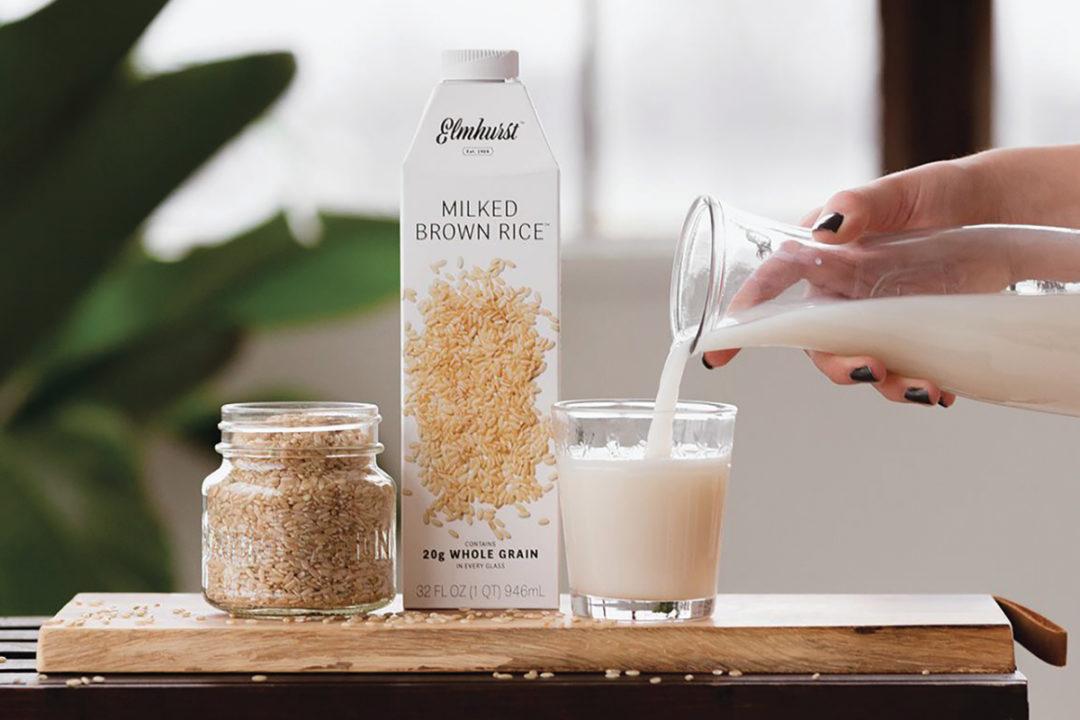 Elmhurst milked brown rice
