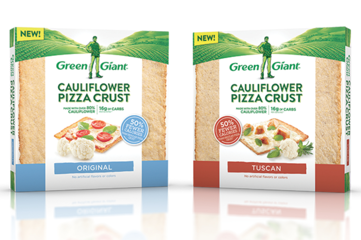 Green Giant cauliflower pizza crust, B&G Foods