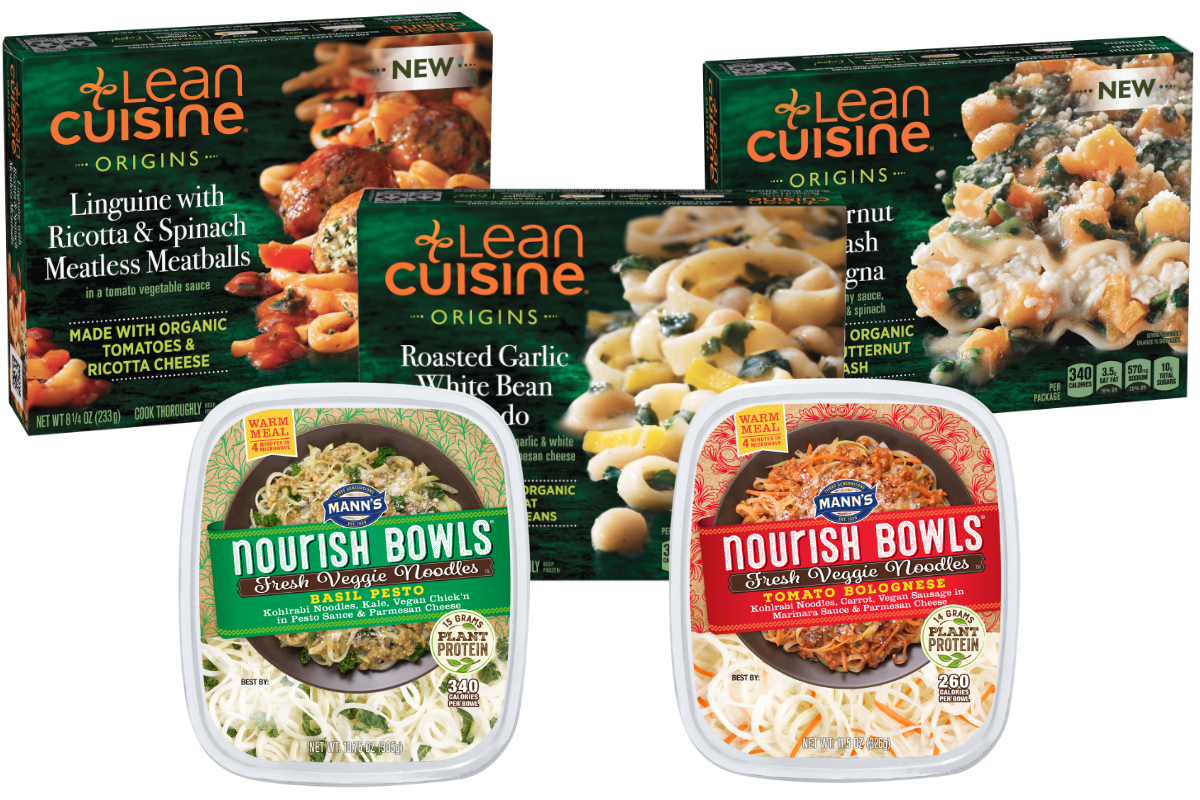 Plant-based Lean Cuisine and Nourish Bowls