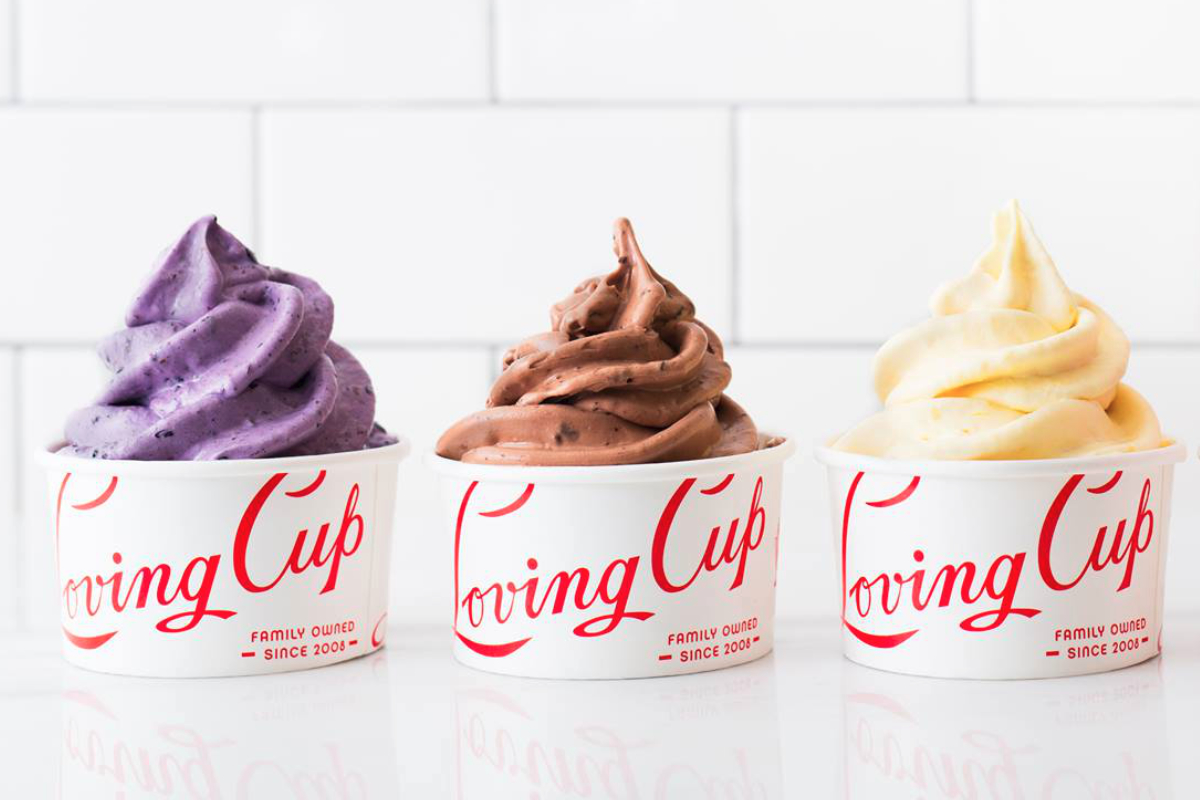 Loving Cup frozen yogurt
