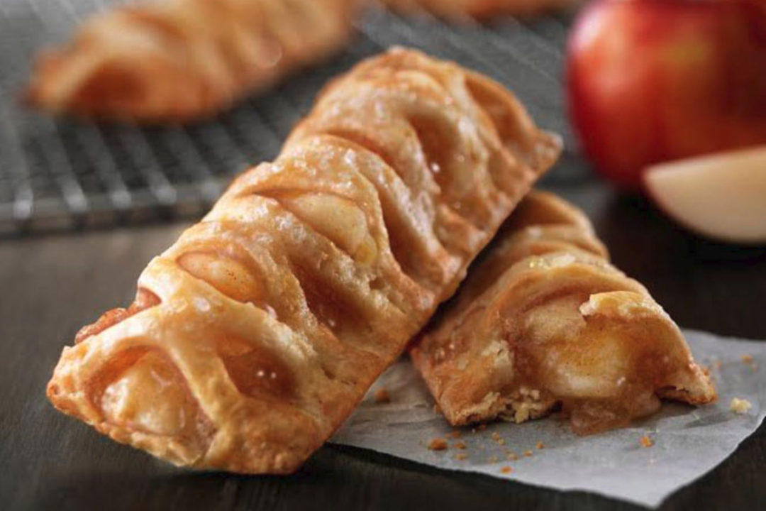 New McDonald's baked apple pie