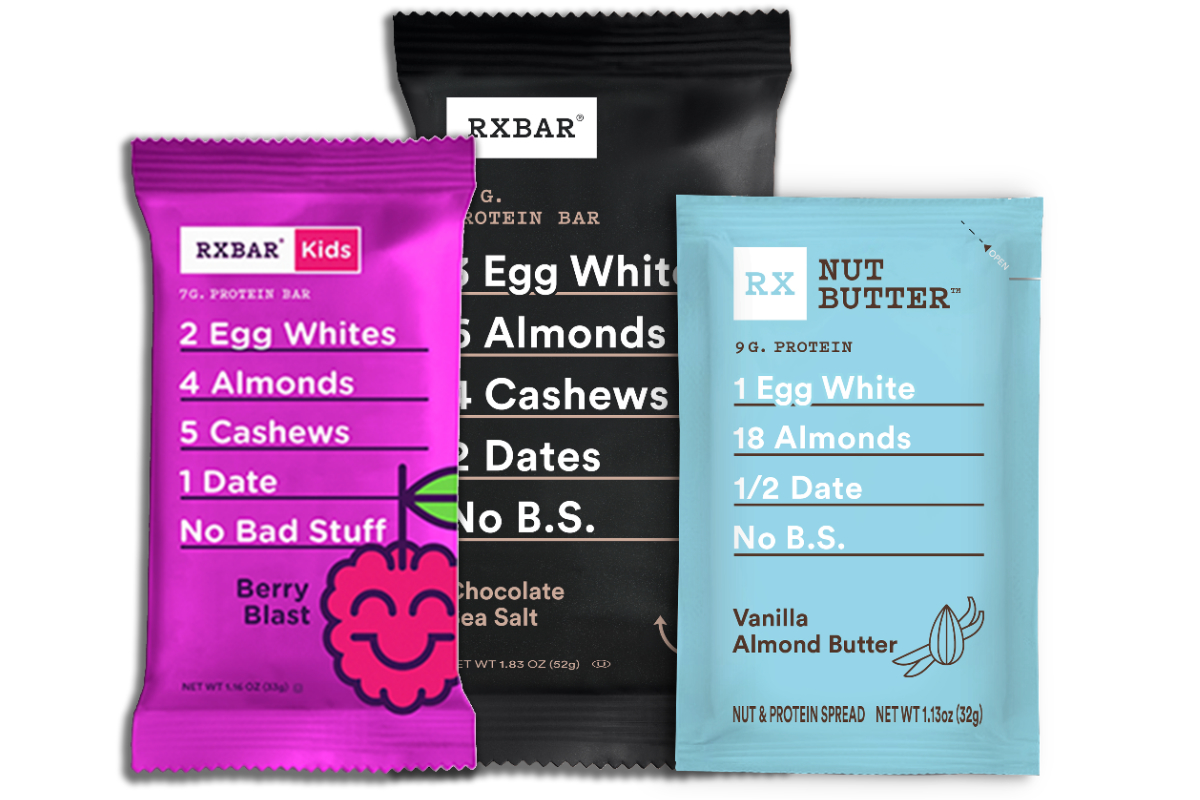 RXBAR products, Kellogg
