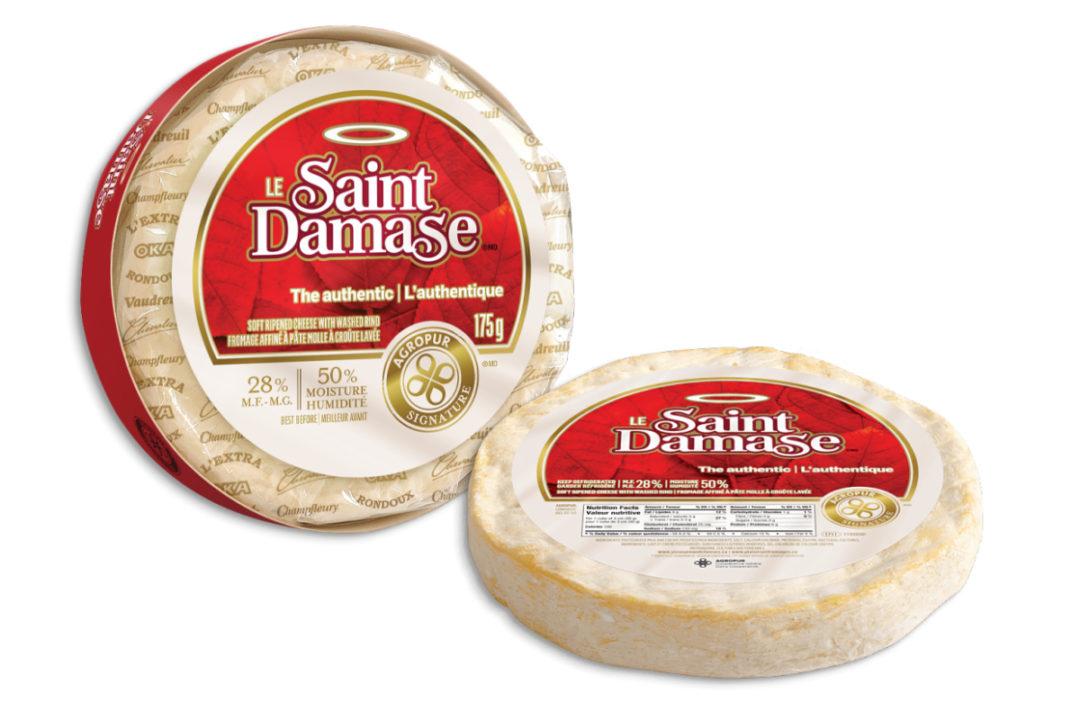 Agropur le Saint Damase soft cheese
