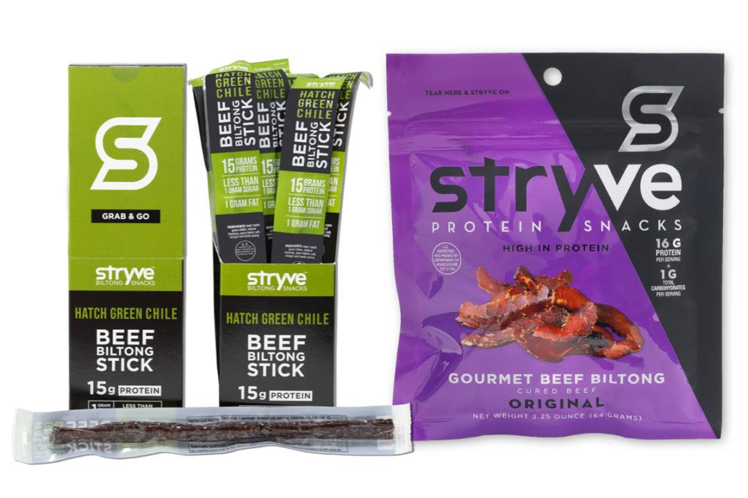 Stryve Foods biltong meat snacks