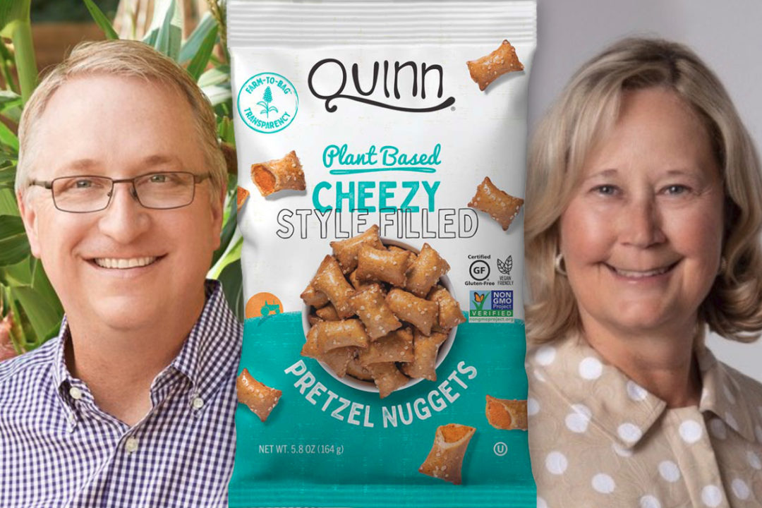 John Foraker, Michele Meyer and Quinn Cheezy Style Filled Pretzel Nuggets
