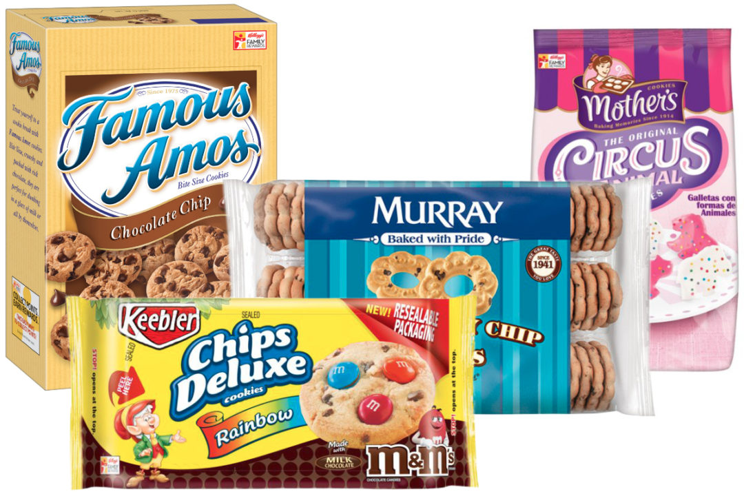 Kellogg cookie brands