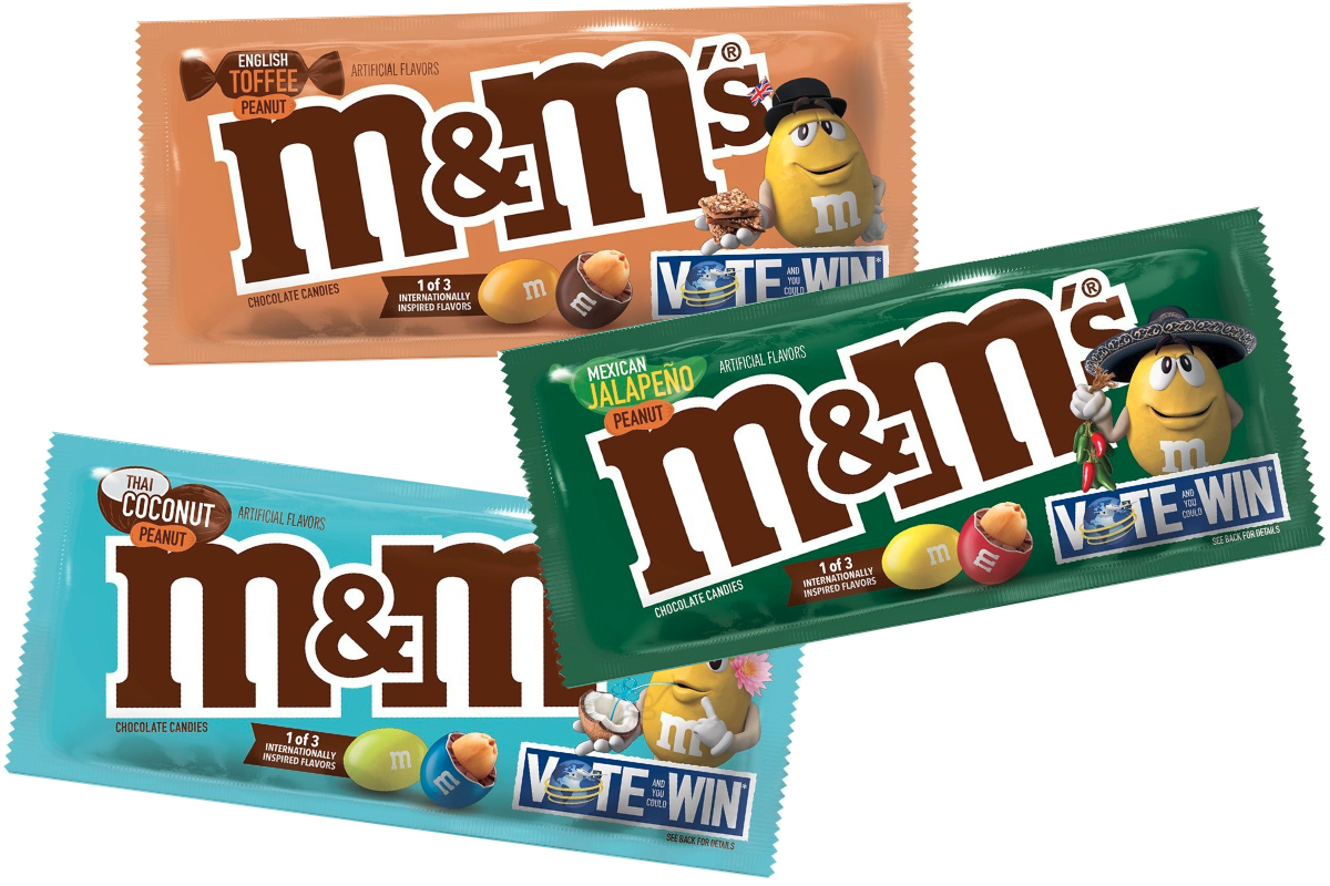 M&Ms global flavors