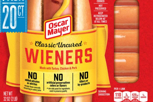 Oscar Mayer uncured wieners