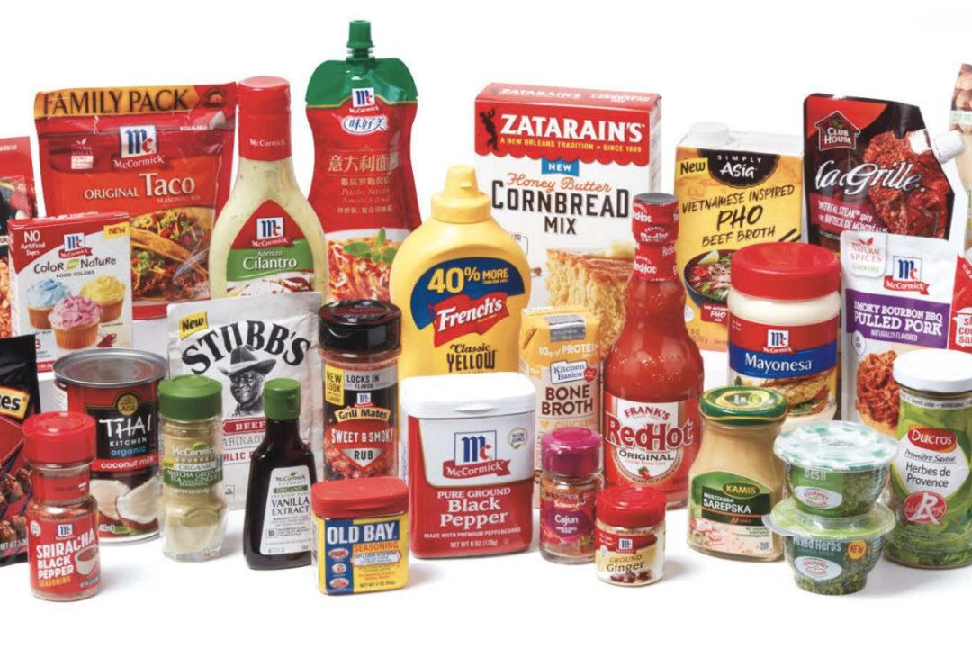 McCormick product portfolio