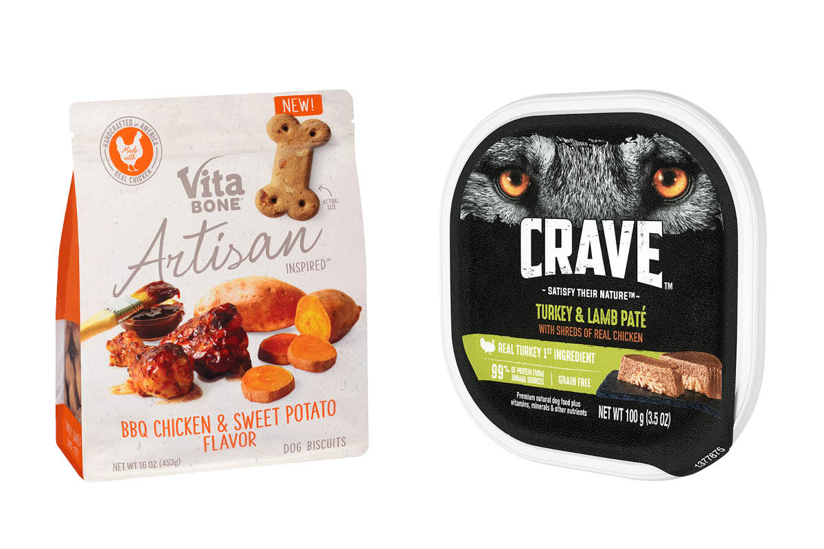 Front of Vita Bone and Crave Package