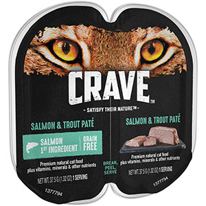 Package of Mars Petcare Crave brand