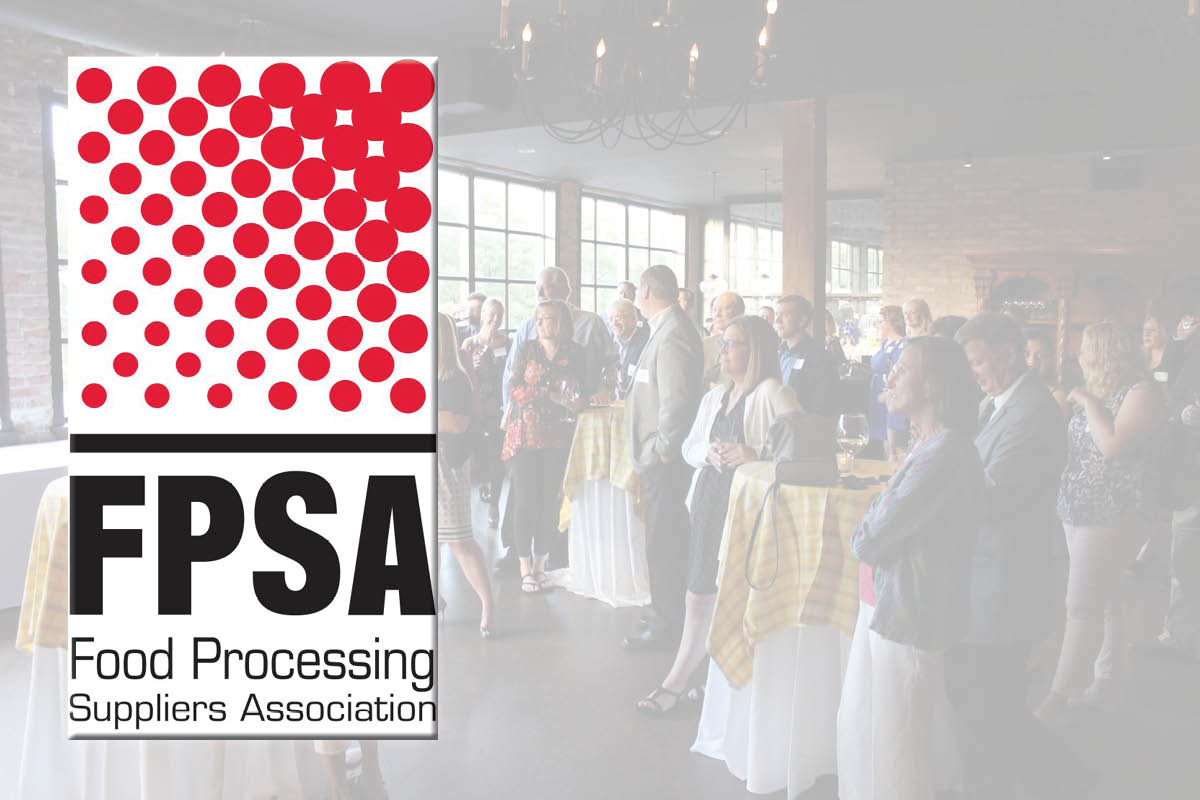 FPSA logo with event background