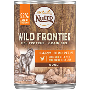 Package of Mars Petcare Wild Frontier brand
