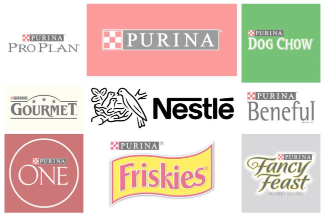 Nestlé Purina product lines