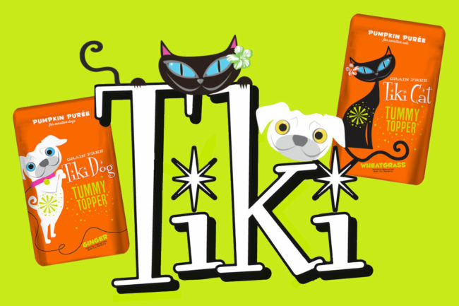 Tiki Pets Tummy Toppers for cats and small dogs
