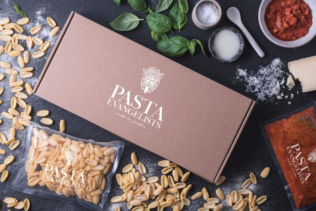 Pasta Evangelists pasta and sauce
