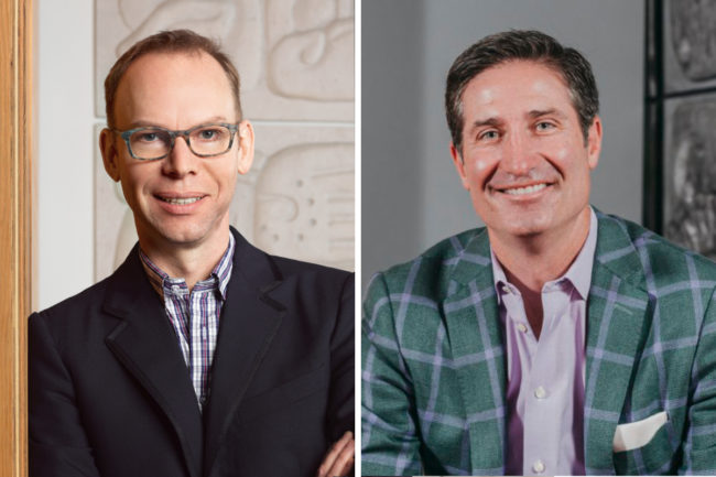 Steve Ells and Brian Niccol, Chipotle