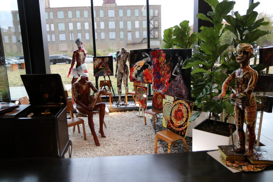 Puratos Chicago Innovation Center interior
