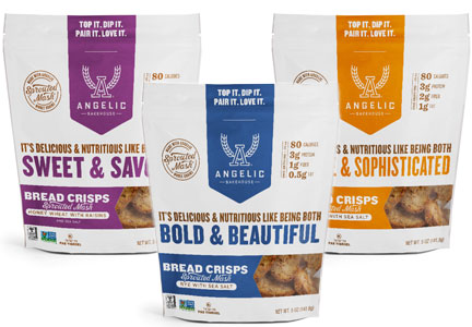 Angelic Bakehouse bread crisps