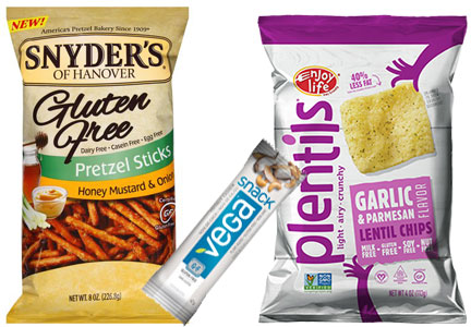 Allergen- and gluten-free snacks