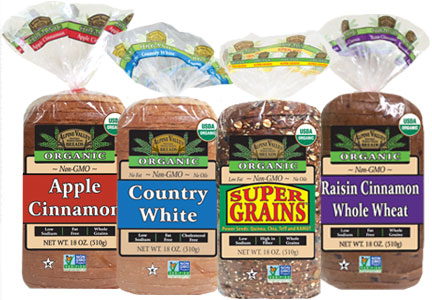 Alpine Valley Bread varieties, Flowers Foods