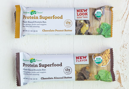 Amazing Grass protein bars
