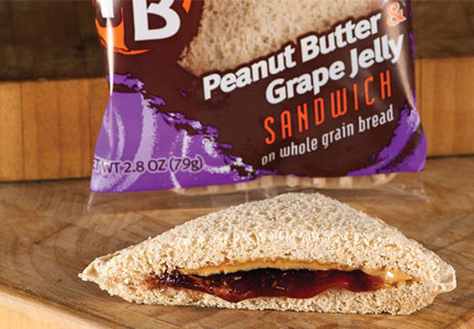 AdvancePierre Foods peanut butter and jelly  sandwich