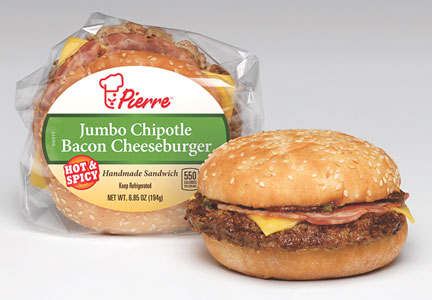 AdvancePierre Foods bacon cheeseburger