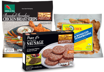 Albertville Quality Foods products
